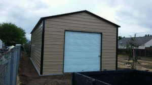 Boxed Eave Style Shed