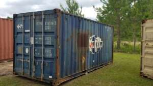 20ft Blue CMA CGM Container